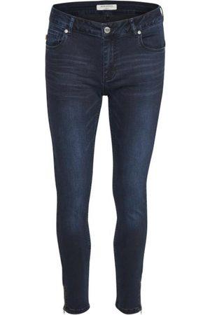 Denim Hunter Kvinder Skinny - Celina zip Custom jeans