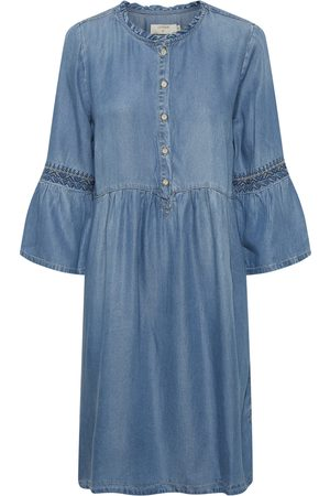 Cream Kvinder Casual kjoler - Lussa denim dress