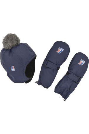K-Way Handsker - Set Cappello e Moffole 984BL