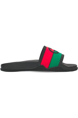 Gucci Mænd Sandaler - Interlocking G Rubber Slide Sandals