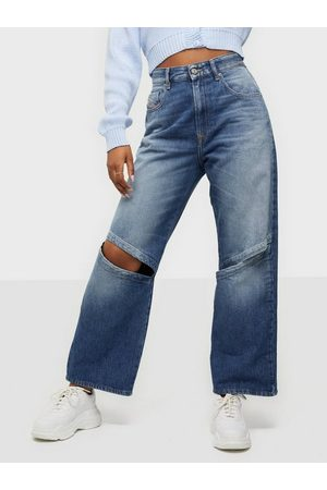 Diesel Kvinder High waist - D-Reggy-T-SP2 Trousers High waisted jeans