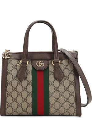 Gucci Small Ophidia Gg Supreme Top Handle Bag