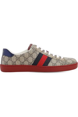 Gucci Mænd Sneakers - 25mm Ace Gg Supreme Fabric Sneakers