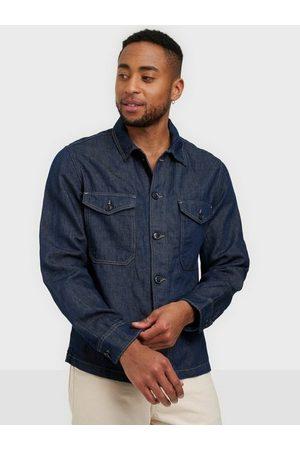 SELECTED Slhandy 6270 Dark Blue Denim Jacket Skjorter Dark Blue Denim