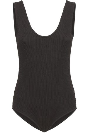 Bottega Veneta Retro Lycra One Piece Swimsuit