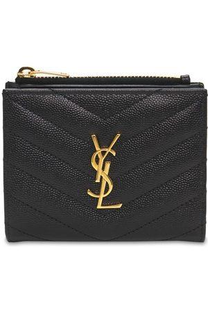 Saint Laurent Kvinder Punge - Monogram Embossed Leather Card Holder