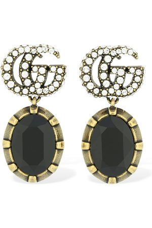 Gucci Gg Marmont Embellished Earrings