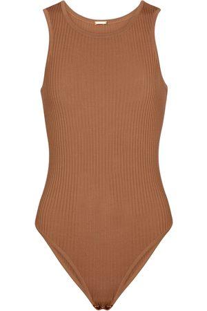 DODO BAR OR Kvinder Bodies - Ribbed-knit bodysuit