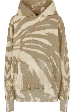 Les Tien Tie-dye cotton jersey hoodie
