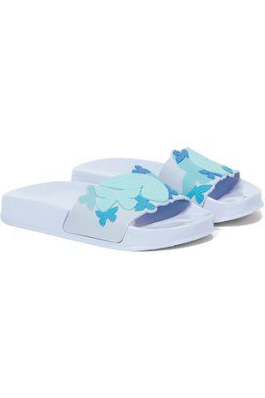 SOPHIA WEBSTER Piger Klipklapper - Butterfly rubber slides
