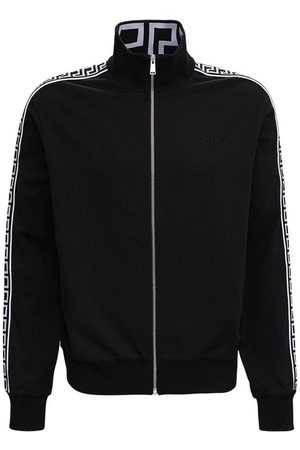 VERSACE Sweatshirt with Greca Inserts