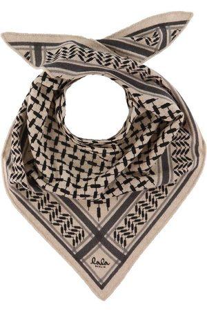 LALA BERLIN Tørklæder - Tørklæde - 95x45 - Triangle Trinity Classic S - Dune
