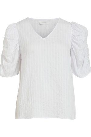 VILA Kvinder Langærmede skjorter - Shirts 'Muria