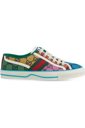 Gucci 15mm Gg Tennis Canvas Sneaker