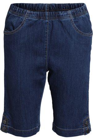Brandtex Kvinder Shorts - Shorts - Blue denim - 38
