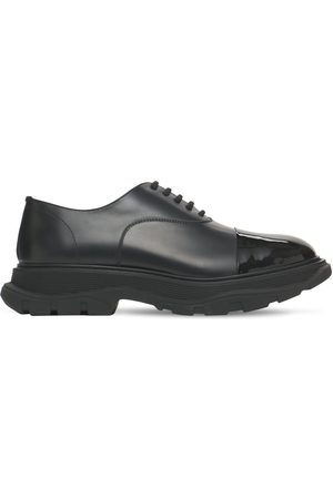 Alexander McQueen Hybrid Leather Lace-up Shoes