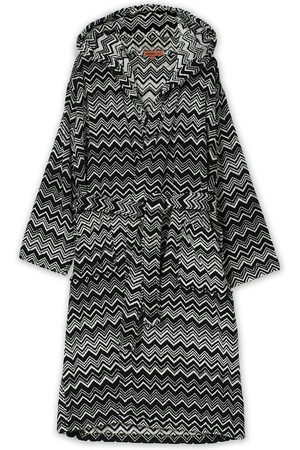 Missoni Mænd Badekåber - Keith Bathrobe Black/White