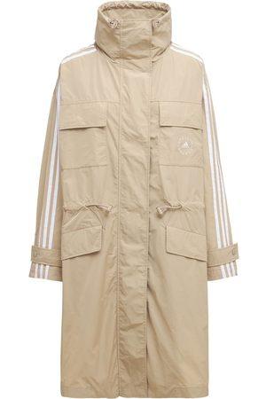 Stella McCartney Oversize Cotton & Tech Trench Coat