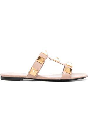 VALENTINO GARAVANI Kvinder Sandaler - Roman sandaler med nitter
