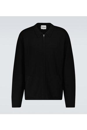 WINNIE N.Y.C Wool zipped sweater