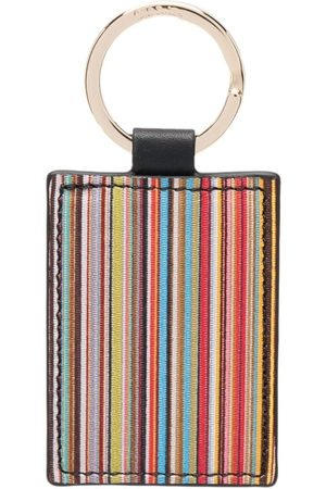 Paul Smith Stripe print keyring
