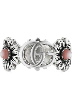 Gucci Mænd Ringe - Double G flower ring