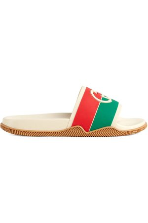 Gucci Interlocking G pool slides