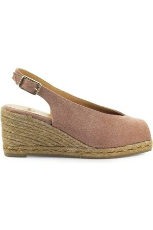 Castaner OPEN TOE ESPADRILLES WITH WEDGE
