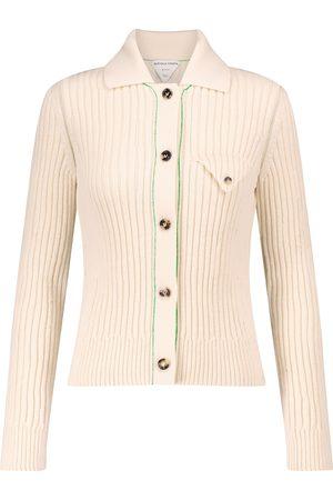 Bottega Veneta Ribbed-knit wool cardigan