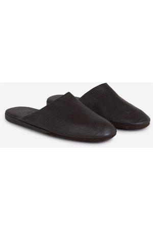 Santa Eulalia Leather Slippers