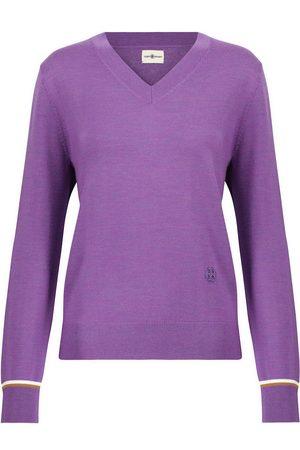 Tory Sport Kvinder Strik - Merino wool sweater