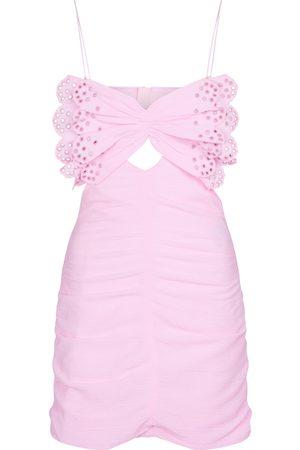 Isabel Marant Likyna cotton and silk minidress