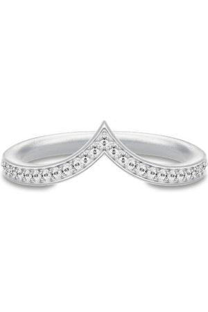 Julie Sandlau Kvinder Ringe - Ocean Crest Ring - Rhodium