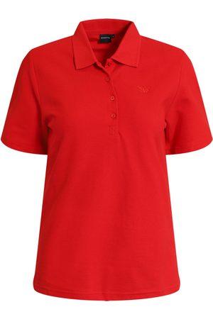 Brandtex Kvinder Kortærmede - Polo-t-shirt - Chinese Red - S