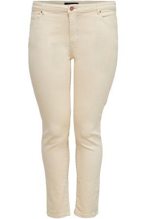 ONLY Kvinder Skinny - Curvy Carjenny Life Reg Push Up Skinny Fit Jeans Kvinder