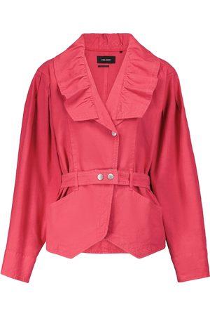 Isabel Marant Epaline linen and cotton jacket