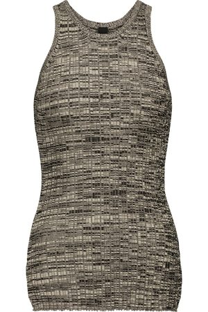 PETAR PETROV Ela M ribbed-knit silk tank top