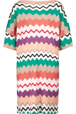 Missoni Zig-zag stretch-silk minidress