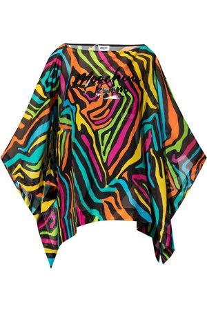 Moschino Kvinder Strandtøj - Oversize beach shirt