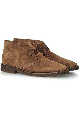 Drake's Mænd Støvler - Clifford Suede Desert Boots Light Brown