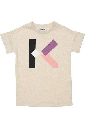 Kenzo Logo Print Cotton Dress