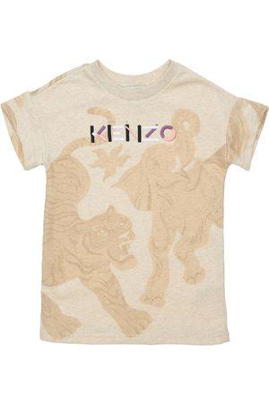 Kenzo All Over Print Cotton Dress