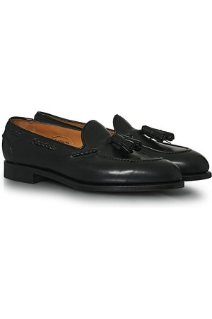 EDWARD GREEN Mænd Flade sko - Belgravia Tassel Loafer Black Calf