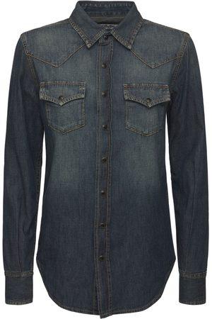 Saint Laurent Western Cotton Shirt
