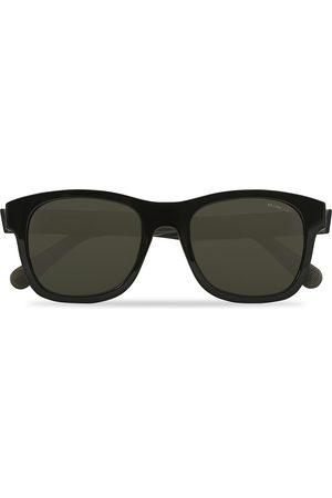 Moncler Lunettes Mænd Solbriller - ML0192 Sunglasses Black/Smoke Polarized
