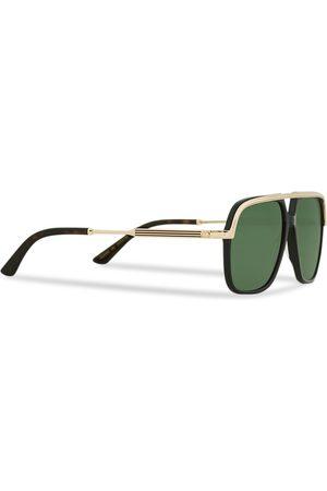 Gucci Mænd Solbriller - GG0200S Sunglasses Black/Gold