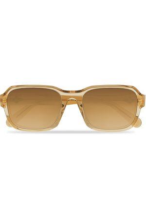 Moncler Lunettes Mænd Solbriller - Icebridge Sunglasses Shiny Beige/Brown Mirror