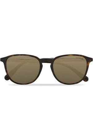 Moncler Lunettes Mænd Solbriller - ML0190 Sunglasses Havana/Green Mirror