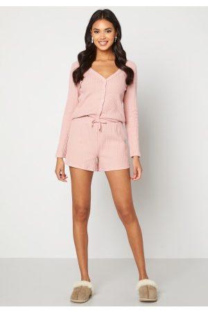 Happy Holly Kvinder Shorts - Serena shorts Dusty pink 52/54