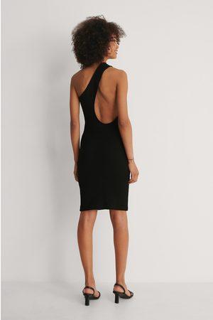 NA-KD Kvinder Asymmetriske kjoler - Asymmetrisk Kjole Med Én Skulder